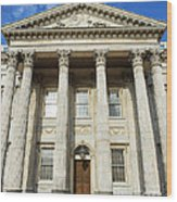 First Bank Of The United States Philadelphia Wood Print