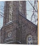 First Baptist Church Wood Print