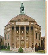 First Baptist Church Of Asheville North Carolina Wood Print