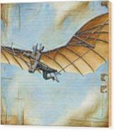First Flight Wood Print