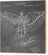 First Flying Machine Wood Print