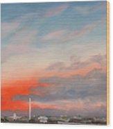 Obama Inaugural Sunrise 1 Wood Print