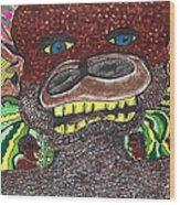 First Jungle Wood Print