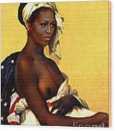 First Lady Wood Print
