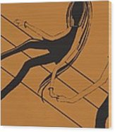 First Love   Number 11 Wood Print