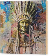 First Nations 6 Wood Print