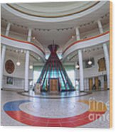 First Nations University Of Canada Interior Wood Print