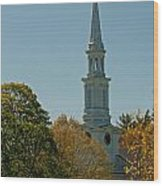 First Parish - Lexington Wood Print