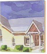 First Presbyterian Church II Ironton Missouri Wood Print