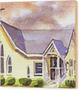 First Presbyterian Church Ironton Missouri Wood Print
