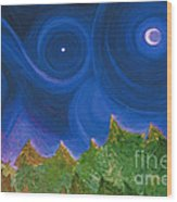 First Star Wish By Jrr Wood Print by First Star Art