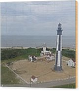 First State Landing  Lighthouse Wood Print
