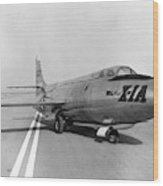 First Supersonic Aircraft, Bell X-1 Wood Print