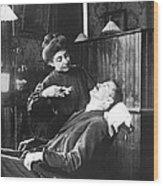First Women Dentists Wood Print