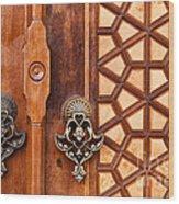 Firuz Aga Mosque Door 01 Wood Print