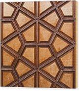 Firuz Aga Mosque Door 06 Wood Print