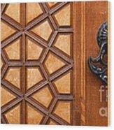 Firuz Aga Mosque Door 07 Wood Print