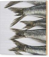 Fish Wood Print by Bernard Jaubert