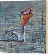 Fish In Wood Print