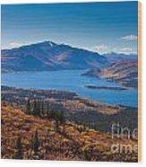 Fish Lake - Yukon Territory - Canada Wood Print