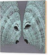 Fish Talk Wood Print
