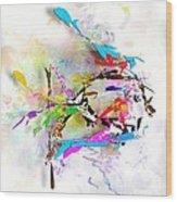 fish XXIV - marucii Wood Print