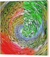 Fishbowl Wood Print