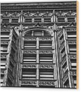Fisher Building - 10.11.09_028 Wood Print
