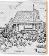 Fisherman's Cove Manasquan Nj Wood Print