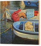 Fisherman's Etude Wood Print by Kiril Stanchev
