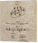 Fisherman's Hat Patent Wood Print