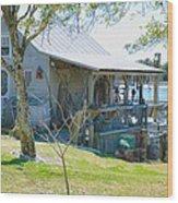Fisherman's House 2 Wood Print