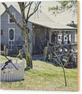 Fisherman's House 3 Wood Print