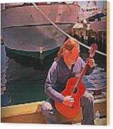 Fishermans Song Wood Print