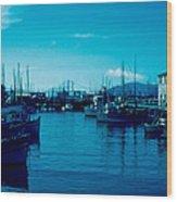 Fisherman's Wharf 1955 Wood Print