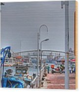 Fisherman's Wharf Taiwan Wood Print
