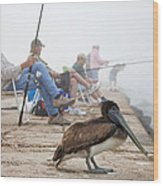 Port Aransas Texas Wood Print