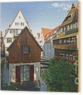 fishermens quarter in Ulm Wood Print