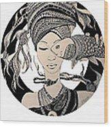 Fisheye Wood Print