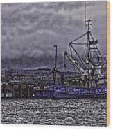 Fishing Boat09 Wood Print