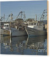 Fishing Fleet Wood Print