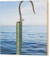 Fishing Gaff Wood Print