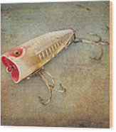 Fishing Lure I Wood Print