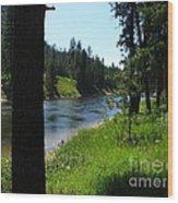 Fishing Spot 1 Wood Print
