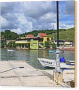 Fishing Village Puerto Rico Wood Print