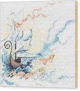 Fiship Wood Print