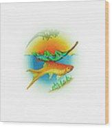Fishsalad 2 Wood Print