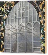 Fishtree Wood Print