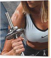 Fitness 26-2 Wood Print