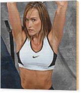 Fitness36-2 Wood Print